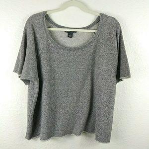 Victoria Secret Heather Gray Sweat Shirt
